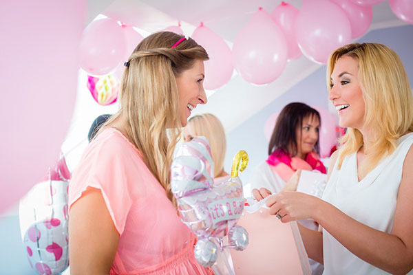 Wedding baby shower