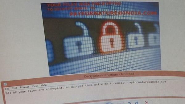 Salon ransom note / cyber insurance Canada