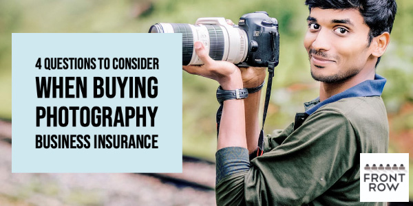 PHOTOGRAPHY BUSINESS INSURANCE