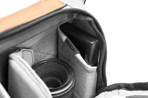 Peak Design sling bag interior