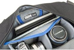 Think-tank turnstyle bag