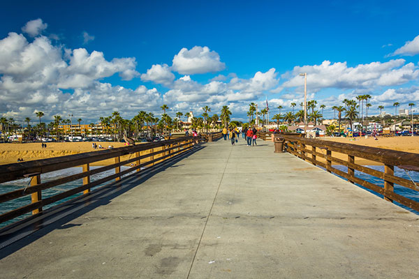 Balboa Pier in Newport Beach