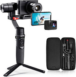 Hohem All in 1 3-Axis Gimbal Stabilizer | best gimbal for GoPro