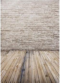 AIIKES White Brick Wall Photography Backdrop