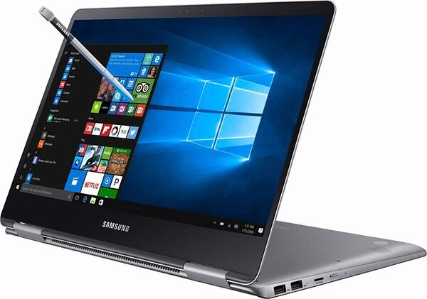 the Samsung Notebook