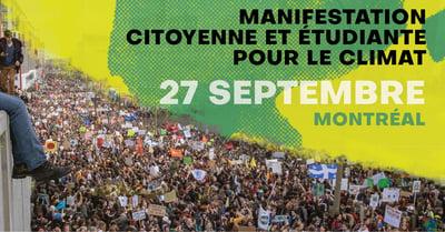 Montréal – Crise climatique, manifestation historique