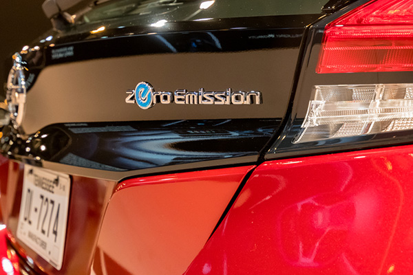 Zero-emission vehicles (ZEV)