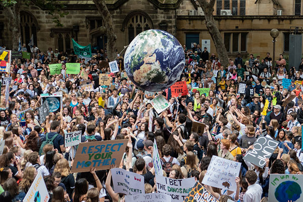 FRONT ROW SUPPORTS THE GLOBAL CLIMATE STRIKE