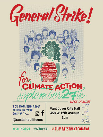 Vancouver – General Strike! for Climate Action