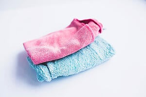 Microfiber cloths (Flickr)