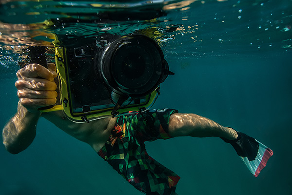 Underwater photography / In-water photography camera protection tips