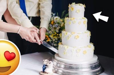 Cake top tier
