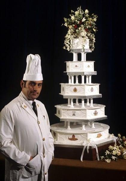 Princess Diana & Prince Charles' cake