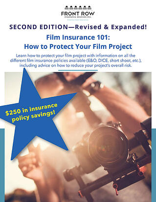 Second Edition of Film Insurance 101 book