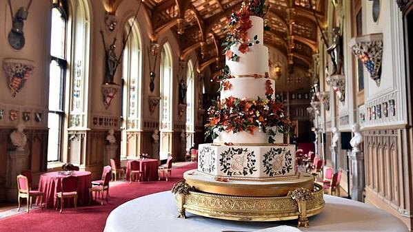 Princess Eugenie & Jack Brooksbank's cake
