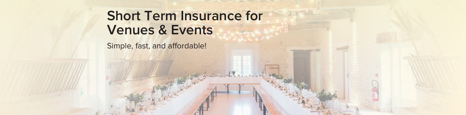 Wedding Insurance BC