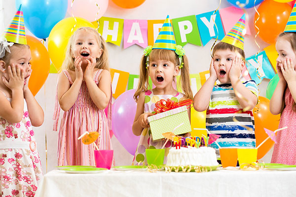 ONLINE INSURANCE FOR KID'S BIRTHDAY PARTIES