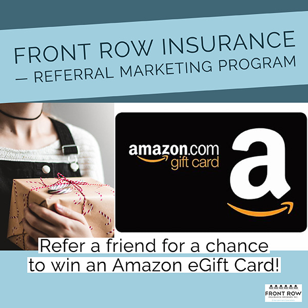 Front Row Insurance referral program